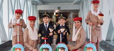 Traveling with children on Emirates flights