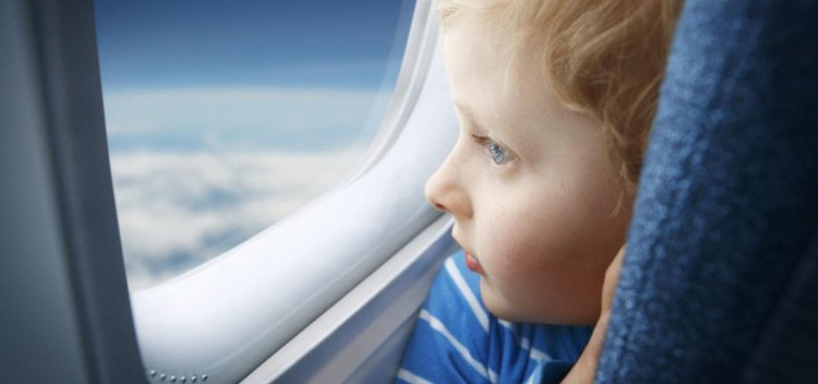 Features of air travel with the child